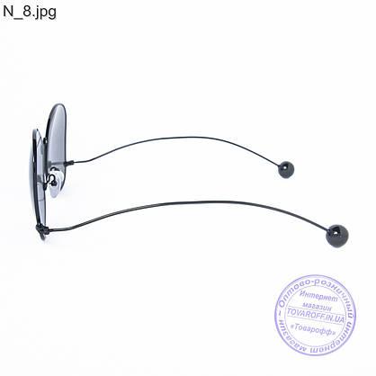 Оптом женские солнцезащитные очки черные - 353, фото 3