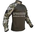 """Рубашка UBACS тактическая """"Украинский пиксель"""" COOLMAX"""