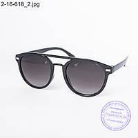 Оптом солнцезащитные очки унисекс черные - 2-16-618