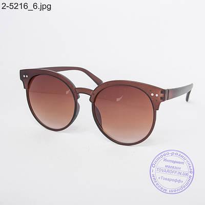 Оптом солнцезащитные очки унисекс черные - 2-5216 - купить по лучшей цене в  Украине от компании