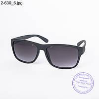 Оптом солнцезащитные очки унисекс черные - 2-630