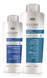 Шампунь Top Care Repair Silver Care Shampoo с антижелтым эффектом 500 мл