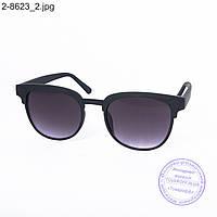 Оптом солнцезащитные очки унисекс - черные - 2-8623