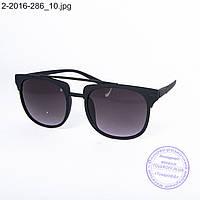 Оптом солнцезащитные очки унисекс - черные - 2-2016-286