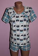 Пижама для кормящей мамы Клетка, фото 1