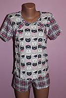 Пижама для кормящей мамы Клетка