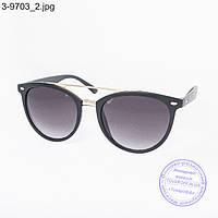 Оптом стильные солнцезащитные очки - 3-9703