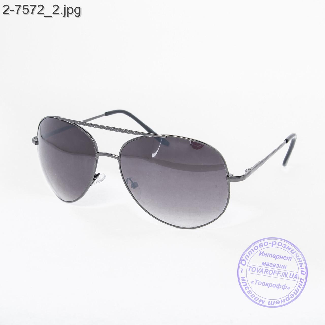 Оптом солнцезащитные очки Авиатор - 2-7572