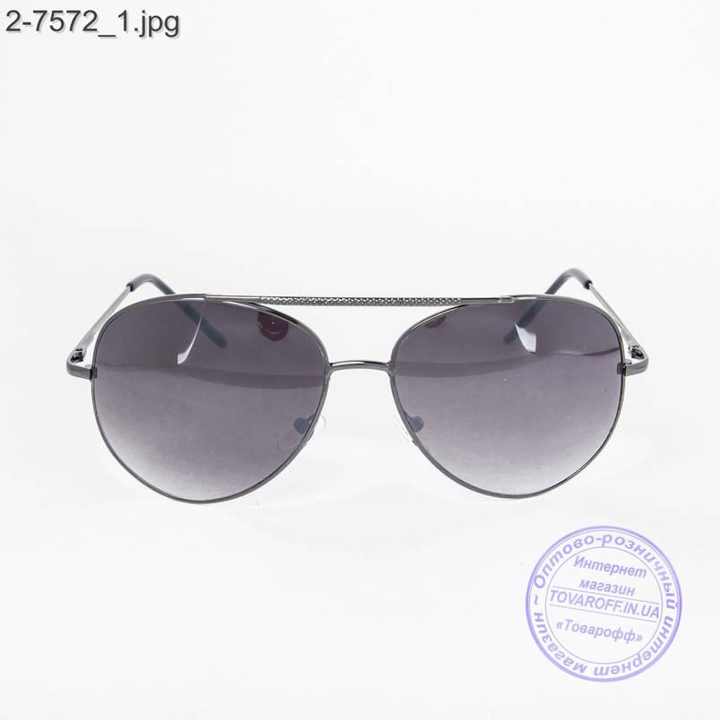 Оптом солнцезащитные очки Авиатор - 2-7572, фото 2