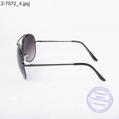 Оптом солнцезащитные очки Авиатор - 2-7572, фото 3