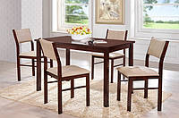 Комплект обеденный Лорри беж (стол + 4 стула)