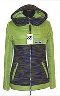 Короткая женская куртка деми