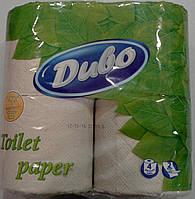 Туалетная бумага Диво макулатурный серый 4 рулона