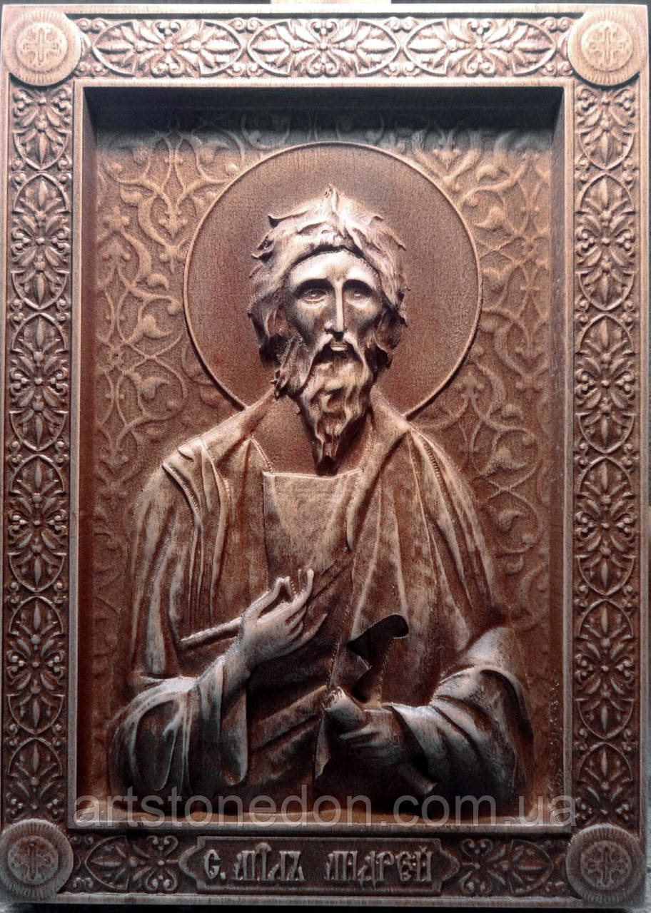 Икона резная Апостола Андрея