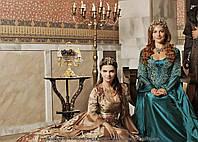 Картина 60х40 см Великолепный век Хюррем и Михримах