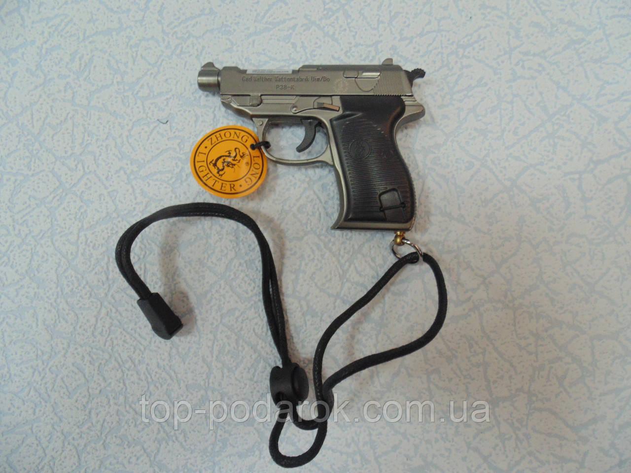 Пистолет зажигалка  размер 10*8