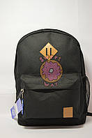 Рюкзак молодёжный Bagland черный