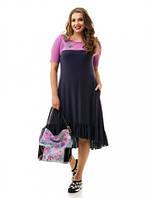 Женское платье большого размера арт 865 (48-74)