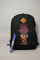 Рюкзак молодёжный Bagland черный PIT