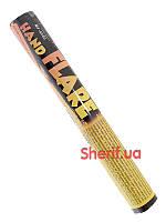 Факел пиротехнический (фальшфейер, фаер) желтого огня MF-0260
