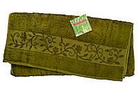 "Полотенце ""Hanibaba"" бамбук 50x90 хаки"
