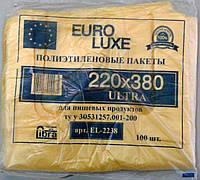Майка Euro luxe 22*38 цветной 100шт/уп*