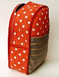 Детский джинсовый рюкзак человек паук, фото 3