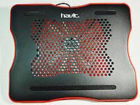 Охлаждающая подставка  Havit HV-F2007 USB black/red