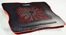 Охлаждающая подставка  Havit HV-F2007 USB black/red, фото 2