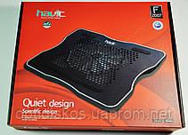Охлаждающая подставка  Havit HV-F2007 USB black/red, фото 3