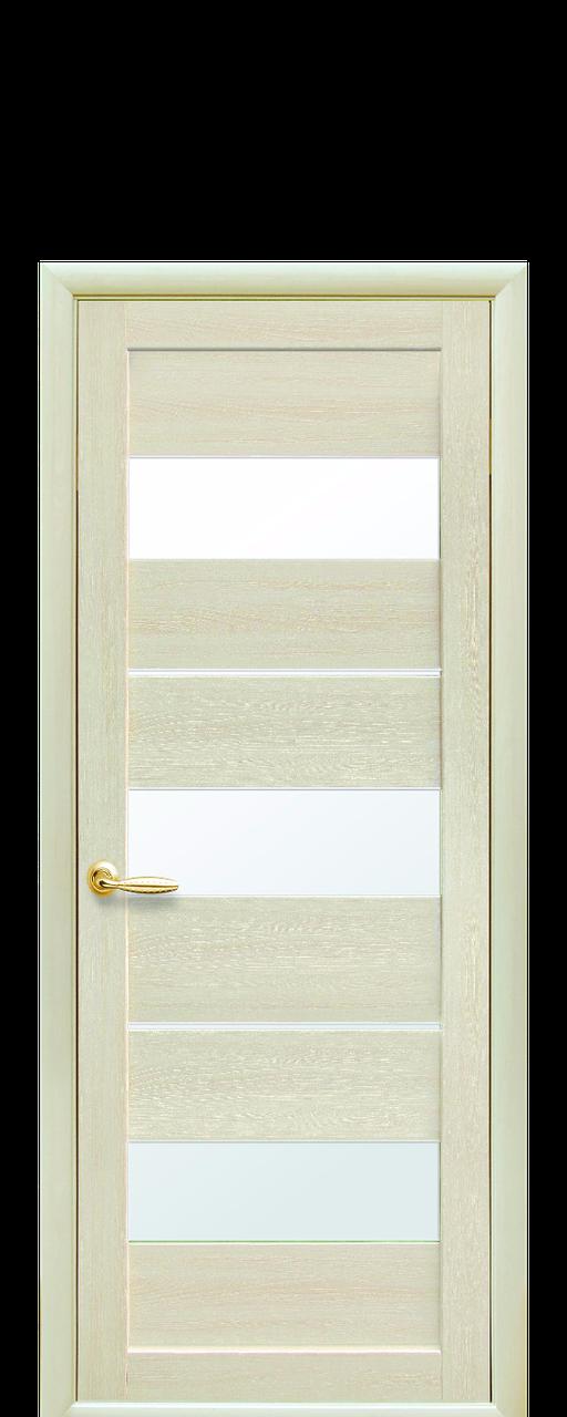 """Двери межкомнатные """"Новый Стиль Лилу"""" дуб жемчужный"""