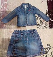 Детский джинсовый костюм Palomino