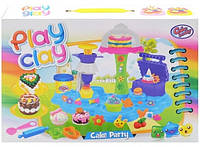 Пластилин для лепки Play Clay 6823