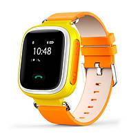 Детские умные часы SMART BABY Q100 Orange