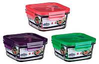 Контейнер для продуктов Peterhof 0,4 л, красный (PH-10084-RD)_333553