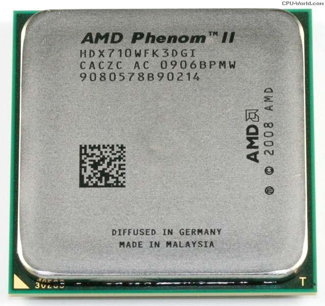 Процессор AMD Phenom II X3 710 Socket AM3