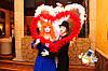 Мим на свадьбу и день рождения, юбилей