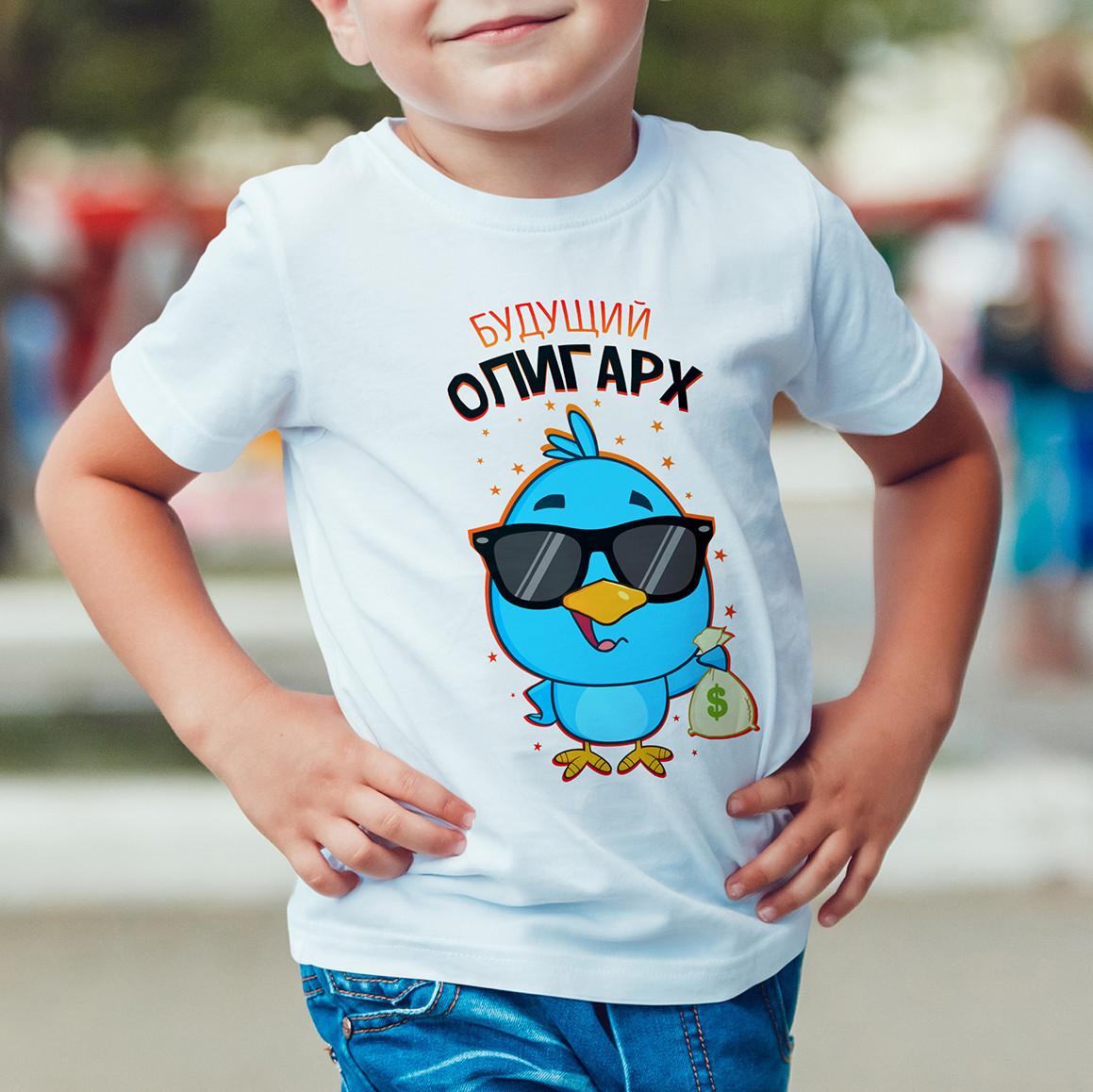 """Детская футболка """"Будущий олигарх"""""""
