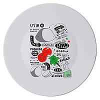 "Тарілка для піци 33 см ""Pizza Recipe""_361810"