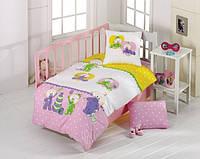 Постельное белье для младенцев Kristal Bebis розовый