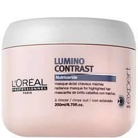 Маска-сияние для мелированных волос-L'Oreal Professionnel Lumino Contrast Masque 200 мл