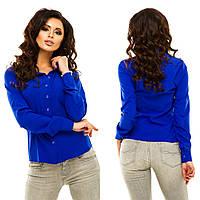Рубашка женская бенгалин в 8 расцветках АНД174, фото 1