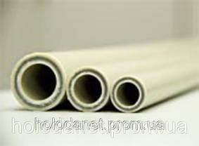 Полипропилен труба (Fiber) d50 со стекловолокном Hit Plast d50 pn20 полипропиленовая труба, фото 2