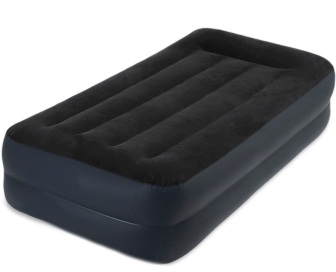Надувне ліжко INTEX 64122 з вбудованим насосом
