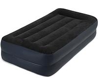 Надувне ліжко INTEX 64122 з вбудованим насосом, фото 1