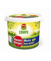 Твердое удобрение для газонов Compo против мха, 4,5кг
