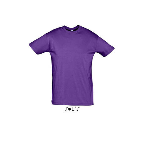 Футболка  фиолетовая  SOL'S REGENT размеры от S до 3XL