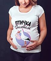 """Женская футболка """"Птичка залетела"""""""