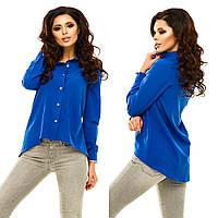 Рубашка женская креп-шифон в 10 расцветках АНД183
