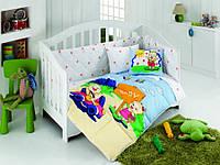 Постельное белье для младенцев Kristal Afacan голубой